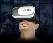Очки виртуальной реальности с джойстиком