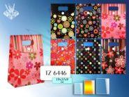"""Пакет подарочный, пластиковый """"BLOOM"""" 19x27x9см (арт. Tz-6446) (12836)"""