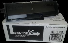TK-580K  Тонер-картридж  оригинальный Kyocera 3500 стр. Black