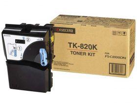 TK-820K  Тонер-картридж   оригинальный  Kyocera  15000 стр. Black