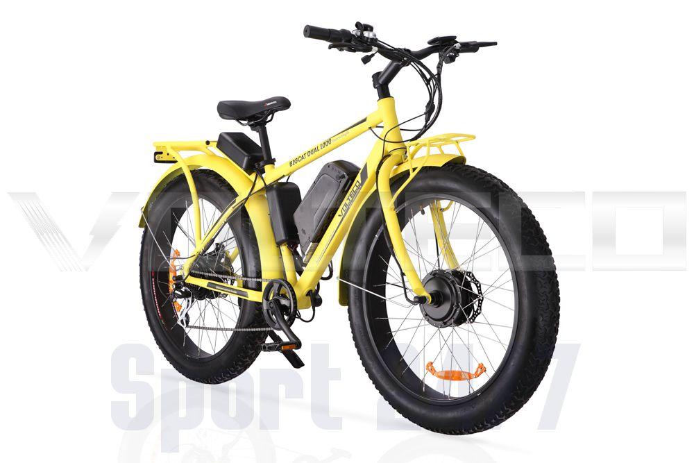 Электровелосипед/Велогибрид BIGCAT DUAL