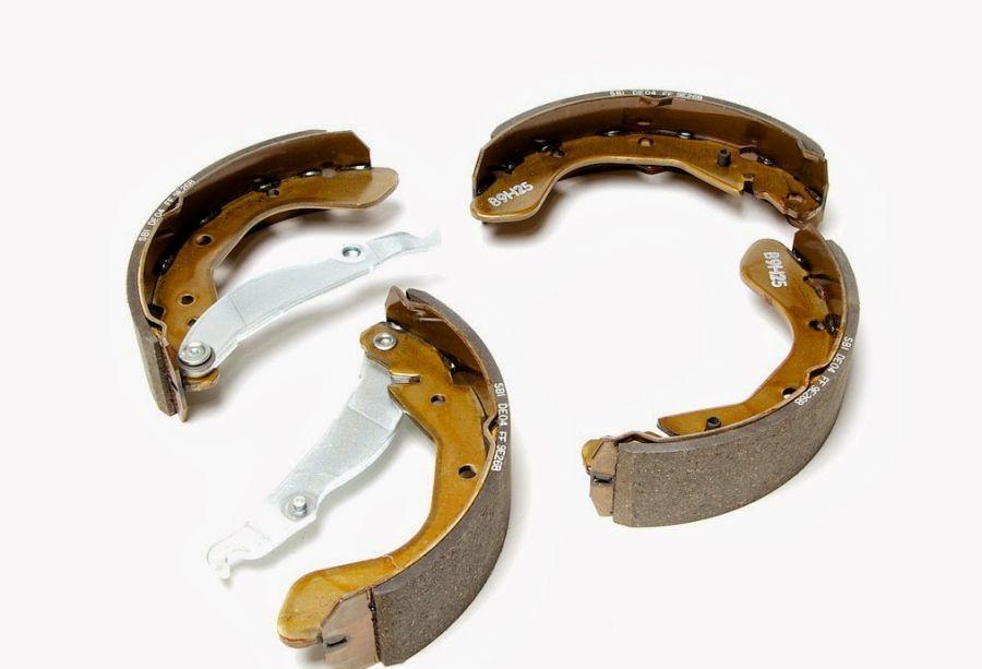 Колодки тормозные задние барабанные DAEWOO Matiz, CHEVROLET Spark 96268686 Kap
