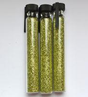 Блестки для дизайна ногтей №12 (зеленое золото)