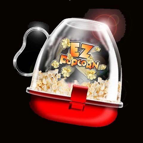 EZ Popcorn - устройство для приготовления попкорна в микроволновке