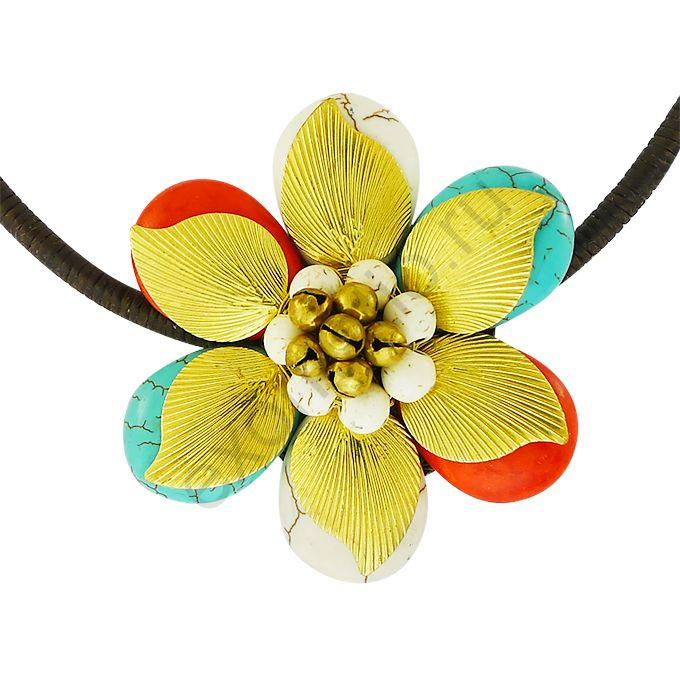 "Колье Ericson Manansala 34484-1745 ""Цветок"""