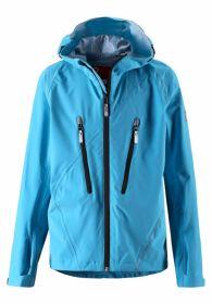 Куртка REIMA Jacket, Saves 531061 7250  для мальчика, цвет бирюзовый