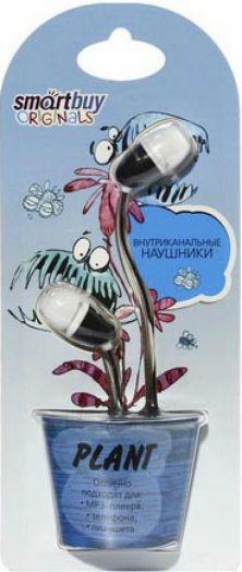 Наушники проводные пассивные SmartBuy® PLANT, белые