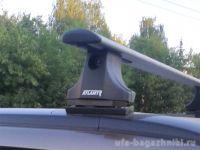 Багажник на крышу на Suzuki Grand Vitara (Атлант, Россия), крыловидные дуги
