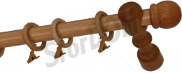 Карниз деревянный ДК 11 сосна