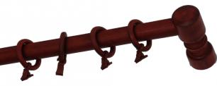 Карниз деревянный ДК 14 красное дерево