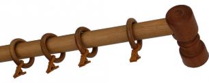Карниз деревянный ДК 14 дуб