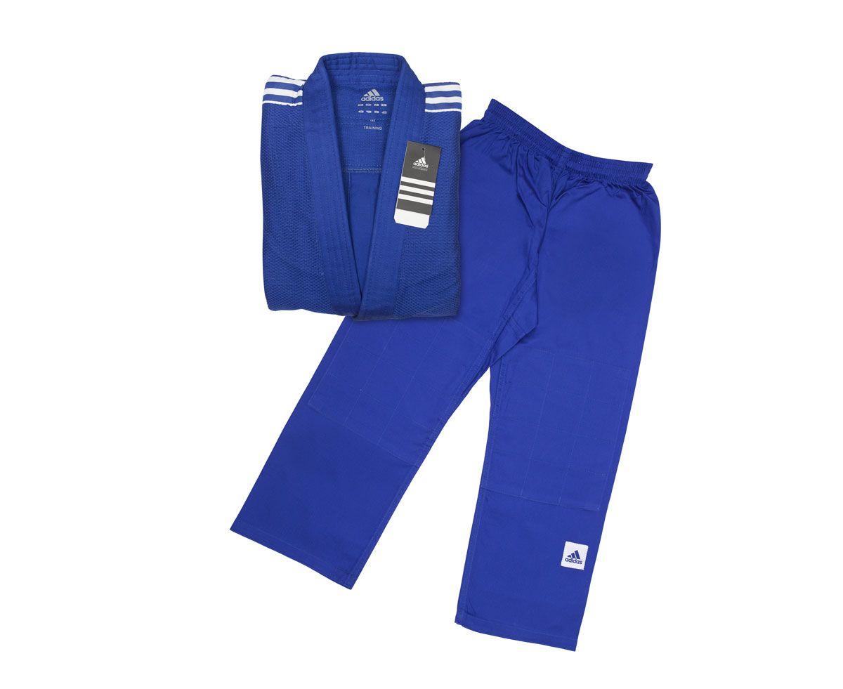 Униформа Дзюдо Adidas подростковое Training синее, размер 190 см, артикул J500В