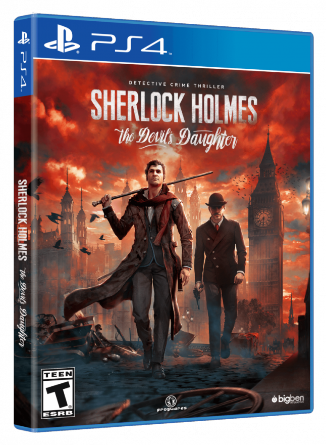 Игра Sherlock Holmes : The Devil's Daughter (PS4)