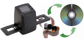 Сканер для оцифровки фотоплёнки и слайдов