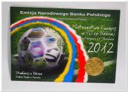 ПОЛЬША 2 зл КОМПЛЕКТ 5 БЛИСТЕРОВ Евро-2012
