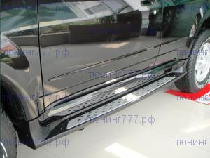 Боковые подножки cnt4x4, bmw стиль, к-кт для 2010-2014