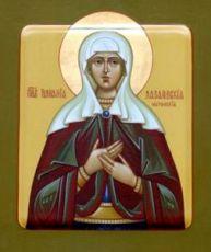 Иулиания Лазаревская (рукописная икона)