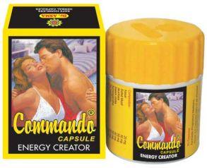 Командос капсулы (Commando capsules) 15кап ENERGY CREATOR