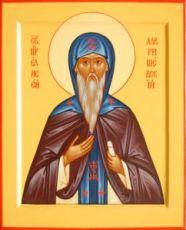 Елисей Лавришевский (рукописная икона)