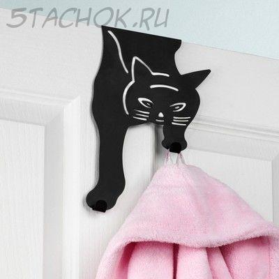 """Крючок на дверь """"Кошка"""""""