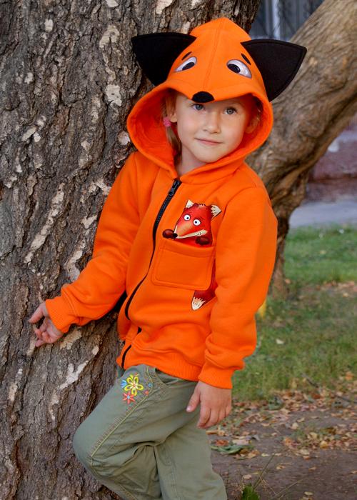 Детская толстовка с капюшоном