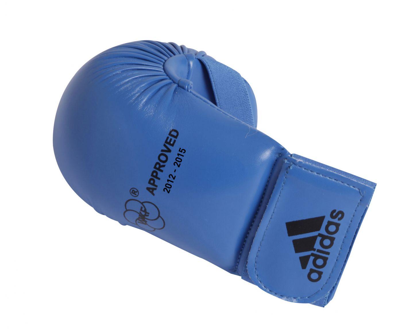 Накладки для карате WKF Bigger синие, размер S, артикул 661.22