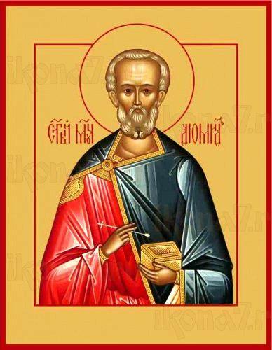 Диомид (рукописная икона)