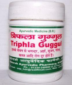 Трифала Гуггул (Triphla Guggul) 40гр (около 100 таб)
