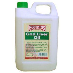 Equimins Cod Liver Oil - Масло из печени трески с витаминами. 2,5 литра