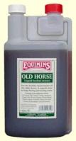 Equimins Old Horse Liquid Herbal Tincture. Сироп для пожилых лошадей. 1  литр