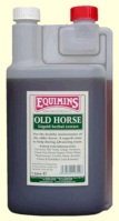Equimins Old Horse Liquid Herbal Tincture. Сироп для пожилых лошадей. 1  литр