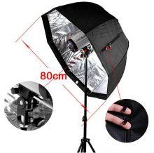 Зонтик октобокс 80 см для фото и видео (без стойки)
