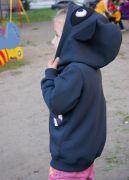 Детский свитшот с объемным капюшоном
