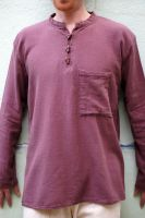 Мужская рубашка из холщевой ткани, большие размеры и разные цвета
