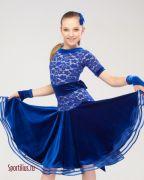 Бальное платье для танцев заказать в ателье