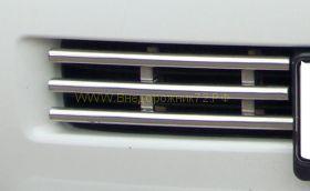 Решетка в передний бампер (Тип 5)  для Toyota Land Cruiser 200 2012-