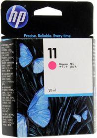 Картридж оригинальный для плоттеров Пурпурный (Magenta), HP 11 C4837A