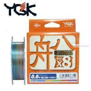 Леска плетеная YGK Veragass PE X8 200 м