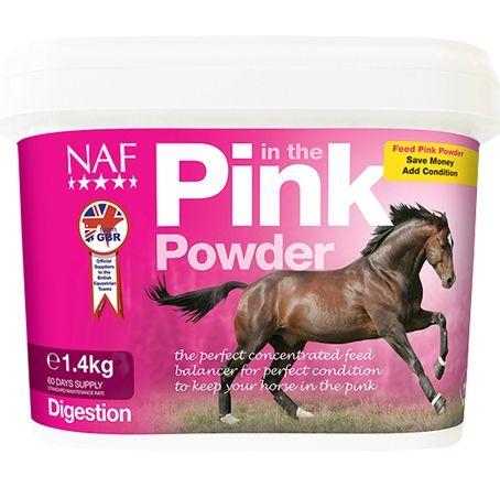 NAF Pink Powder подкормка с дрожжами и пробиотиками. 700 гр и 1,4 кг