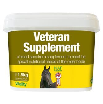 NAF Veteran Supplement подкормка для возрастных лошадей. 1,5 кг