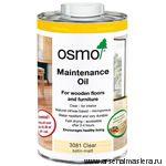 Масло для ухода  за полами Osmo Pflege-Ol 3079 Бесцветное 2,5 л