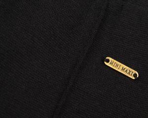 Трикотажные черные бриджи девочке