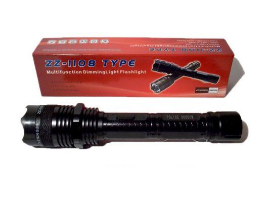 Фонарь-электрошокер zz-1108
