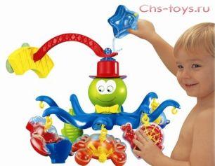 Игрушка для ванной Веселый осьминожка