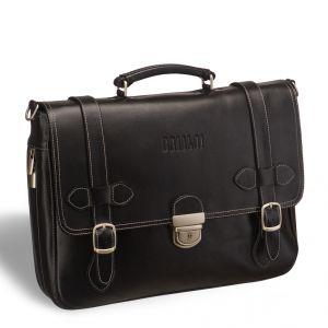Функциональный мужской портфель BRIALDI Mendel (Мендель) black