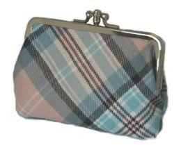 Шотландский кошелёк (клатч) тартан Леди Диана, Принцесса Уэльская- Роза