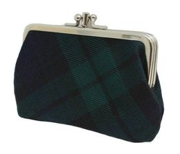 Шотландский кошелёк (клатч) тартан Блэк Уотч Черная Стража Британской Империи