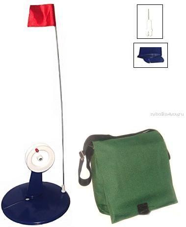 Набор жерлиц в сумке (оснащенные)