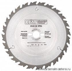 CMT 285.036.18M Диск пильный продольное пиление 450x30x3,8/2,8 20гр 10гр ATB Z36