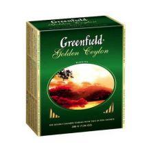 Чай Гринфилд пакетики  100 пакетиков